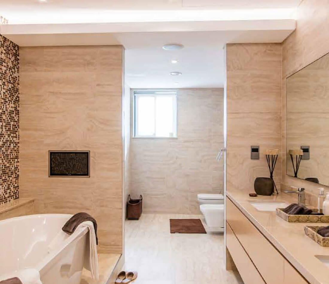 Luxury Bathroom - Forest Villas Dubai, Sobha Hartland Estates in MBR City