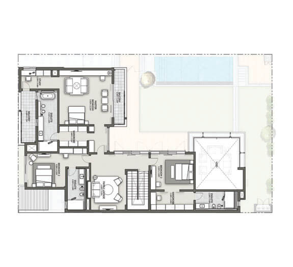 Sobha Forest Villas Dubai Floor Plan